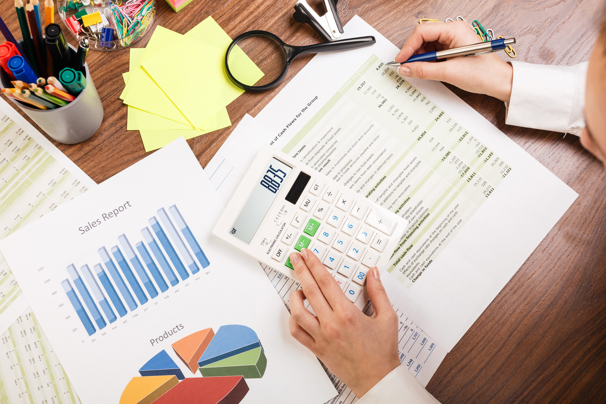 Business accounting reports Virginia